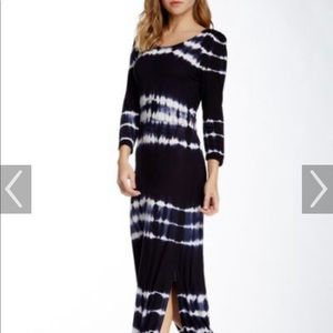 Romeo and Juliet couture | tie dye maxi dress